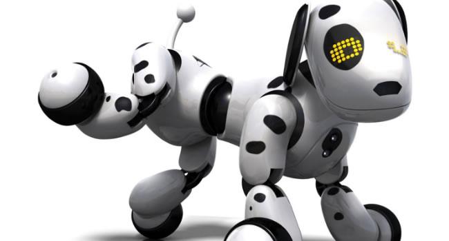 perros robots zoomer